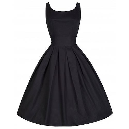 jaren-50-little-black-dress-new-look-christian-dior