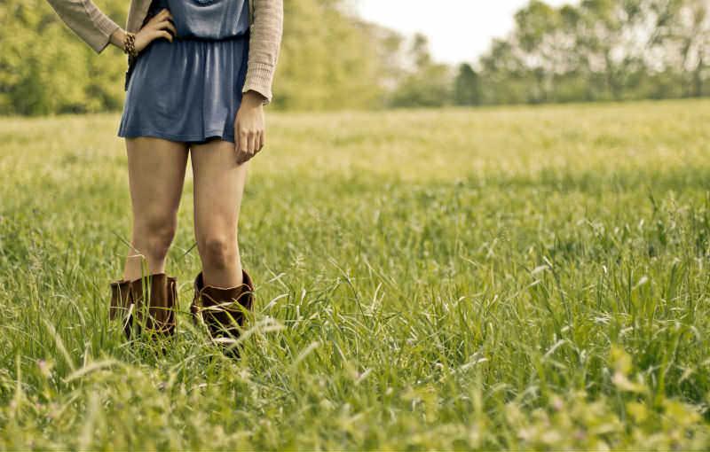 Overknee laarzen, de 'najaarslook'