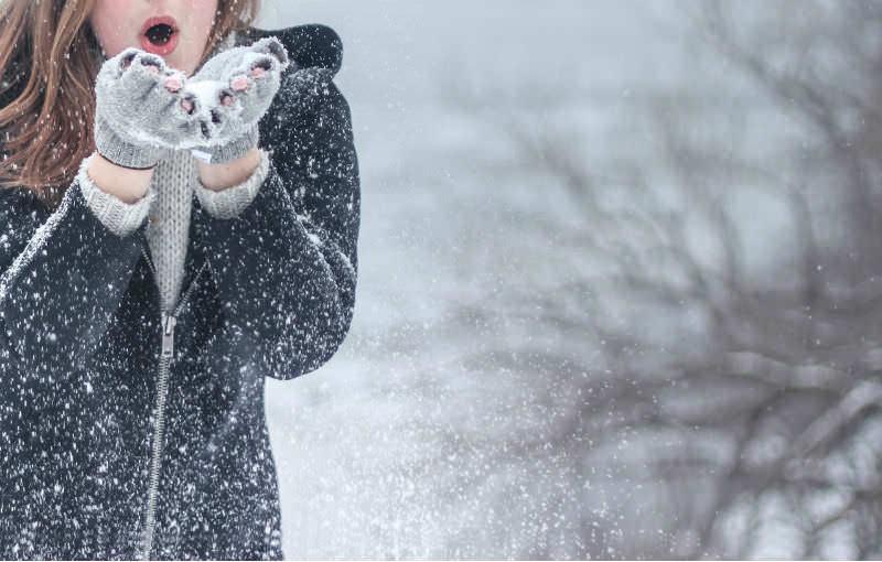 Hippe handschoenen voor de koude winterdagen