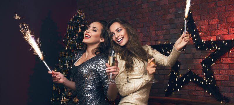 Glitter en glam: dé jurktrend voor Oud en Nieuw