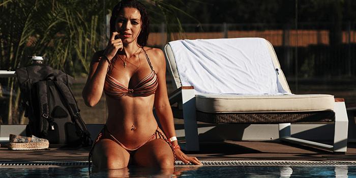 Mooie vrouwen borsten met Top 30