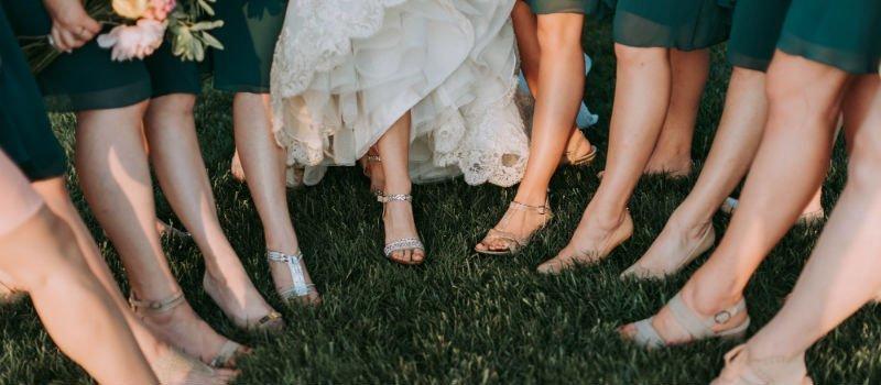 Bruiloftsschoenen nodig? Dít kun je het beste dragen!