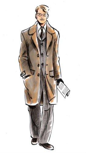 jaren 40 kleding heren